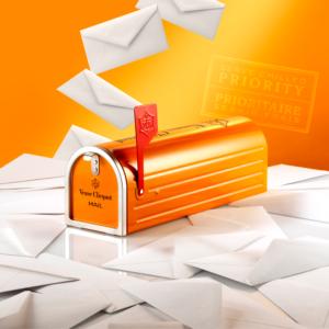 Veuve Clicquot Mail Box