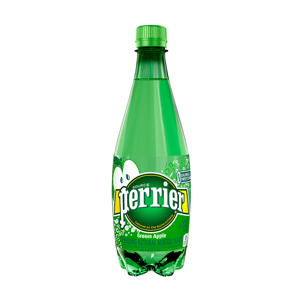 Perrier cu aromă de măr verde 0.5l